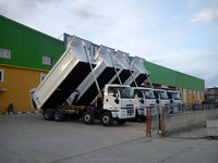 Dump Truck Dumper Tipper made by Hardox or Stell Truck Dumper Tipper Lorry Hydraulic