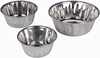Matt Finish Stainless Steel Dog Pet Bowls