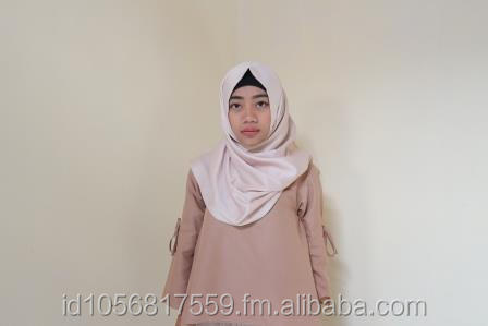 Hijab Scarf for Polite Muslimah, easy to use uneasy to be wrinkled