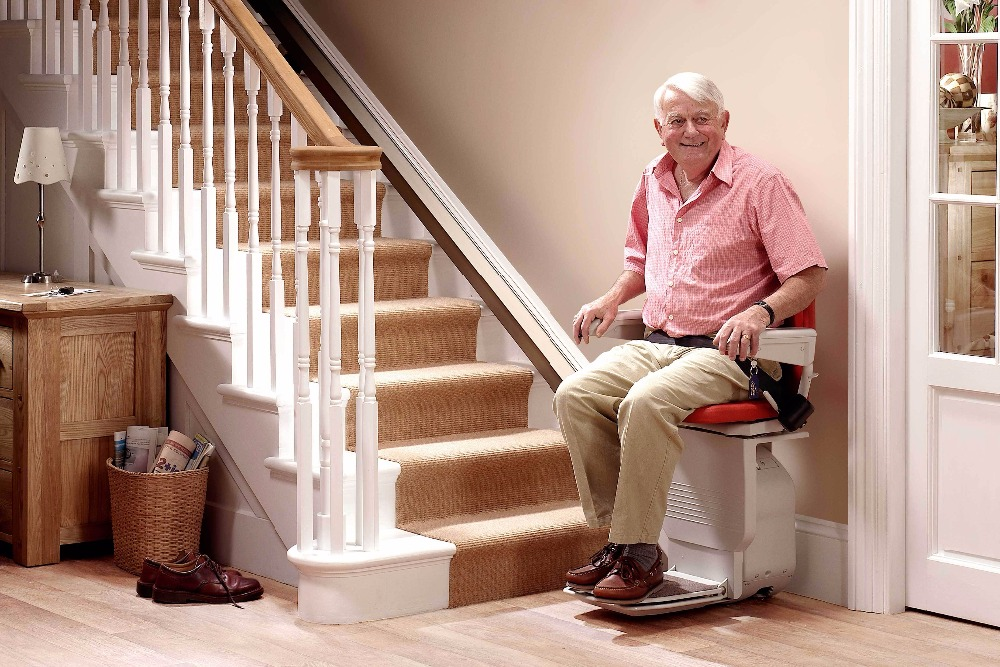 Straight Stair Lift (Chairs/platforms)