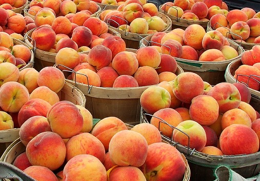 Fresh Peaches Fruits