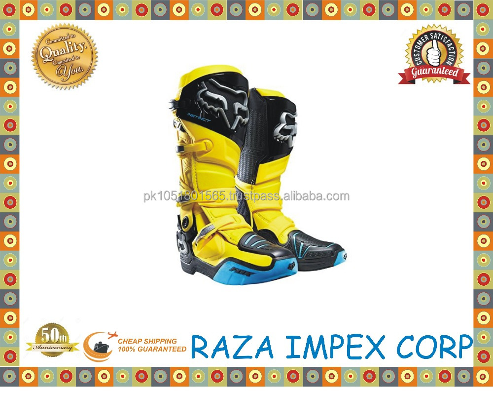 Professional Factory Supply Top Quality motorcycle boot from pakistan manufacturer