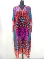 DIGITAL KAFTAN - EMBELLISHED KAFTAN - SHORT