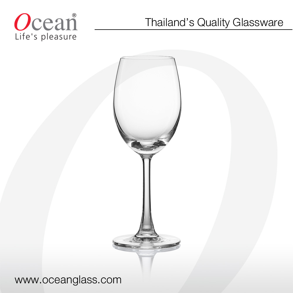 *SPECIAL PRICE* Socialize white wine crystal glass - Lead free crystal,