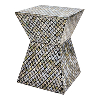 Luxury Mother of Pearl mosaic chair, chair handmade in Vietnam