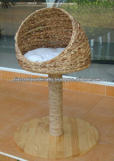 Poly rattan cat bed, cat house, cat cage - Skype: Ms.RICO.VietStyle