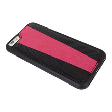 set double color key chain,card holder,leather case for iPhone 6 case