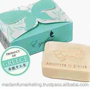 Egaleo Extra Virgin Olive Oil Cleansing Bar (100% natural hand made soap from Greece)
