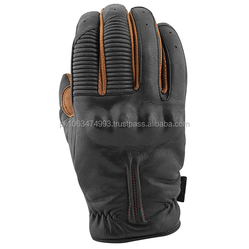 Speed leather motorcycle gloves Leather and textile motorcycle gloves quick sale rider leather motorcycle gloves