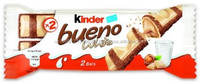 White Chocolate Kinder Bueno Fridge Magnet