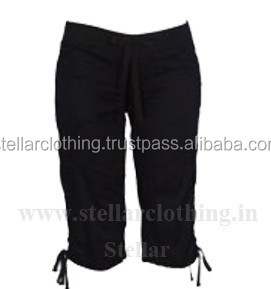Sport wear yoga capri pants