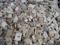 WOOD CHIPS FROM SOFT AND HARD WOOD