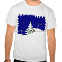 merry christmas custom led t shirt