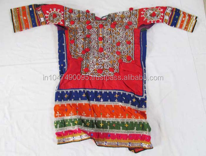 Traditional Vintage Banjara mirror work old Tribal Gypsy Ethnic dresses 2016