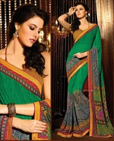 Amazing New Style Printed Designer Saree Womens Casual Sari