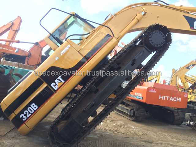 Used excavator caterpillar 320B for sale, CAT 320B, original 320B Excavator