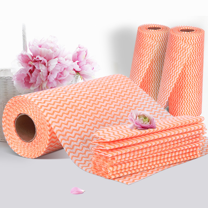 Convenient sanitation Perforated disposable Kitchen Towel Clean Cloth rolls