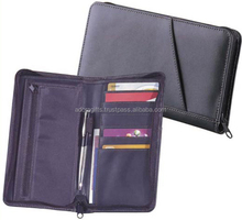 Luxury Black Business Men Passport Cover Leather Bags Multifunctional Brand Travel Passport Cover Wallet Pouch Passport