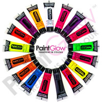 PaintGlow - Neon/UV Face & UV Body Paint (made in UK)