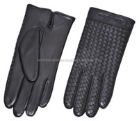 Newest 2016 Male full finger real leather motorcycle racing glove