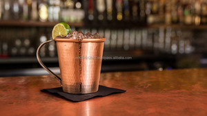 Hammered Copper Mug for Vodka and Moscow Mule Mug
