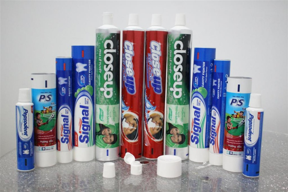 Laminate Tube for Toothpaste and Cosmetic