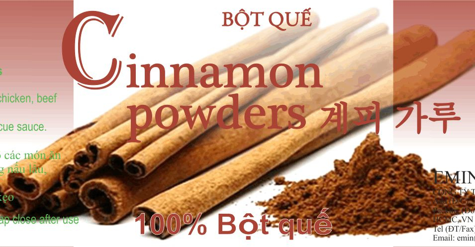 Emin Cinnamon Powder