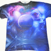 All Over Galaxy Print T Shirt