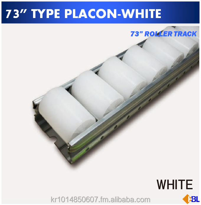 "73"" PLACON & ROLLER TRACKS / LOGIFORM HBL"