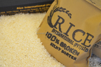 IRRI-6 100% Broken Long Grain Silky Sortex Rice