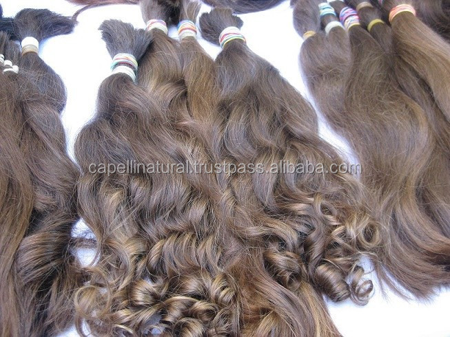 only natural color natural texture! Russian hair.