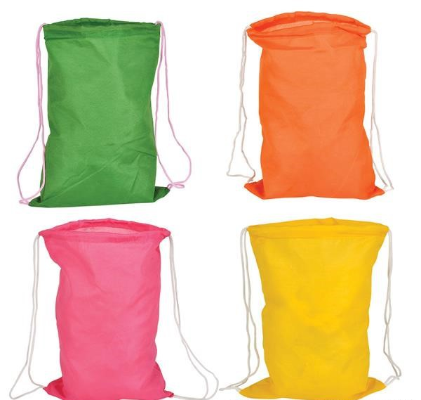 "15"" NEON BACKPACKS"