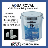 Simple water-based zinc rich anti rust coating with high quality