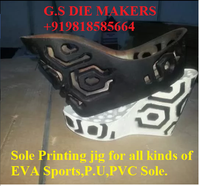 Printing jigs MOLD for sole printing of EVA SPORTS, PVC ,PU SOLES .