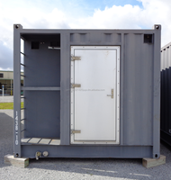 11' (3350mm)W x 10' (3048mm)H x 20' (6058mm)L Steel / Modular/ Container / Accommodation / Sleeper Module