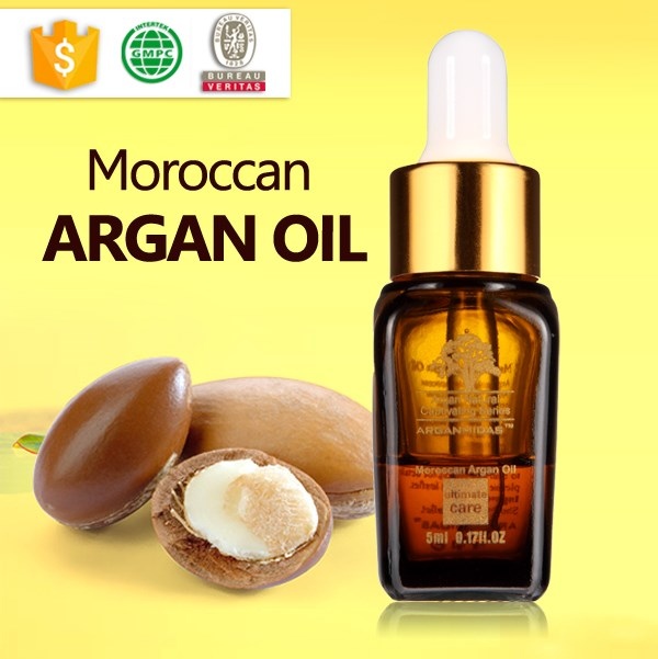 Professional beauty salon and spa products massage argan hair oils
