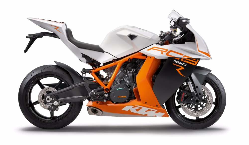 Good Quality KTM 1190 RC8 R 2015 White Motorcycle
