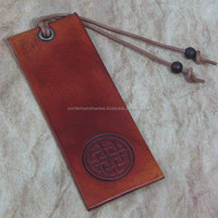 custom embossed leather bookmarks for book stores, libraries, educational institutes, events, promtions