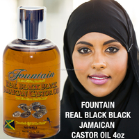 Fountain Jamaican real black black castor oil