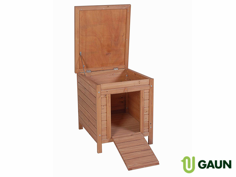 Wooden pet hutch. Model Lisboa