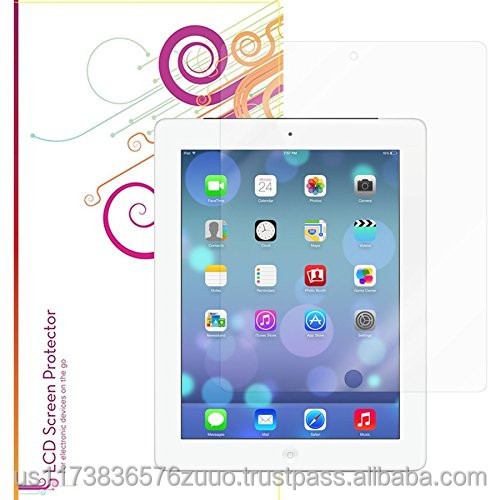 Ultra HD Plus Grade A Japanese multi-layer film with 99.8% transparency screen protector for iPad Mini 3, 2, 1 roocase