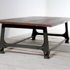Industrial Cast Iron Coffee Table