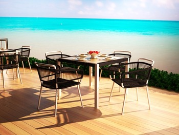 Swara Terrace Set - Outdoor Synthetic Rattan Furniture