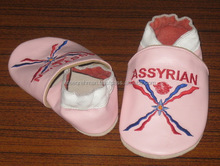 supplier soft Goat leather baby shoes for soft sole baby shoes