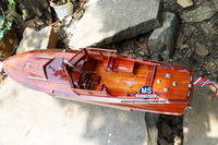 wooden boat model, DAISY FAY L87cm, The best wooden ship model for sale