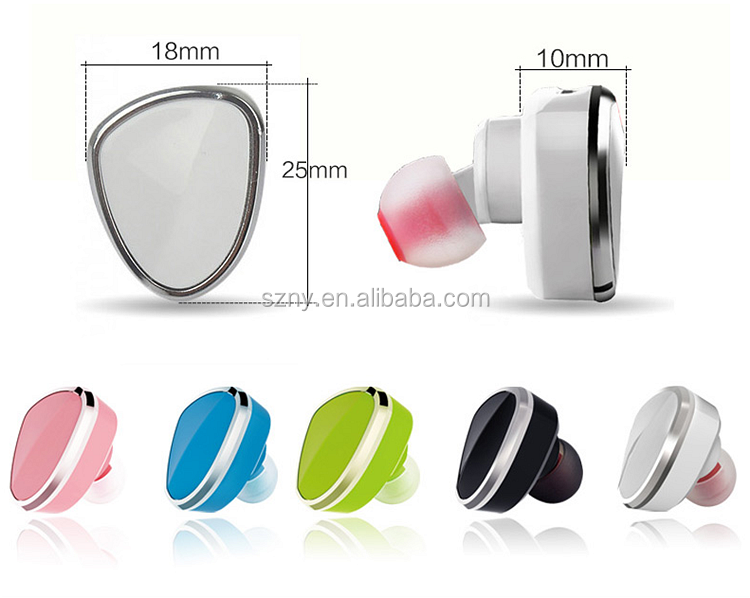 2017hot selling made in china promotional gift mini bluetooth headset wireless