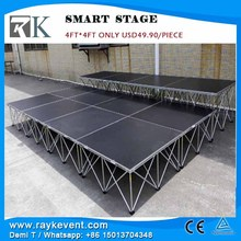 Cheap RK USD 49.90/piece portable stage staging platforms