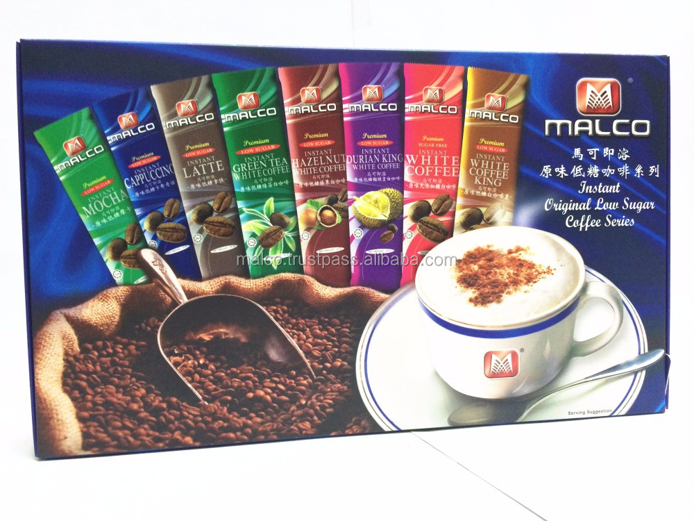 MALCO INSTANT PREMIUM LOW SUGAR COFFEE SERIES