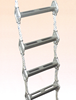 Aluminium Alloy Rope Ladders with GS Type Oval Step