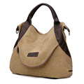 Handbag canvas tote bag Fashion Lady Shopping Handbag Shoulder Canvas Bag